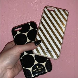 Semi-new Kate Spade phone cases